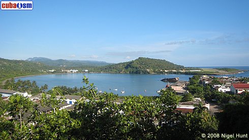 Baracoa Bay and Airport