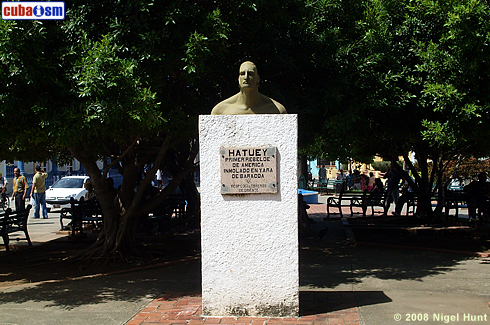 Monument to Hatuey in Central Park