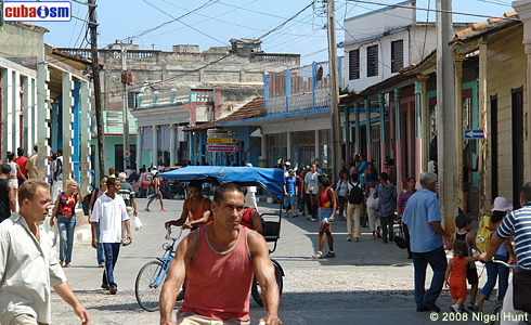 Baracoa, people in the streets