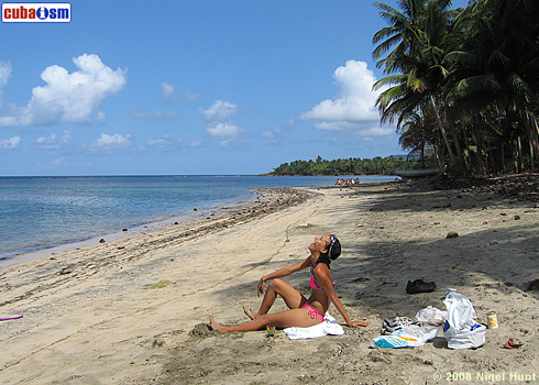 Manglito Beach, Playa Manglito in Baracoa