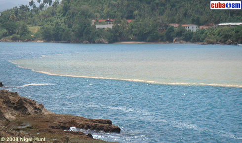 Baracoa, Tibaracon at the coast.